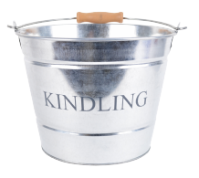 Small Kindling Bucket - Galvanised